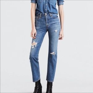 Levi's 501's Original Time Lapse High Waisted Jean